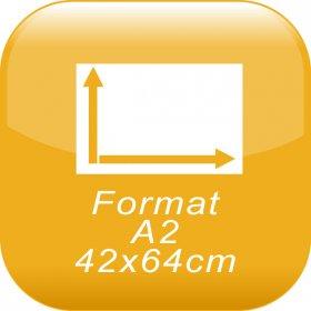 format A2 42x64cm