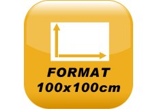 Calamite Foto 100x100cm