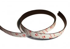 cinta adhesiva magnética de neodimio 20mmx1.5mmx1m