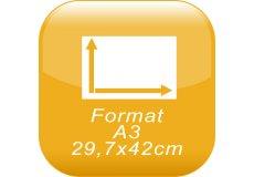 format A3 29,7x42cm