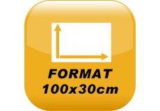 Foto magnética 100x30cm