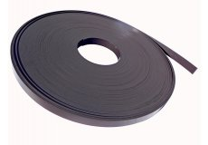 Magnetband braun isotropic 10mm x 2mm x 50 m