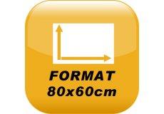photo magnet 80x60cm