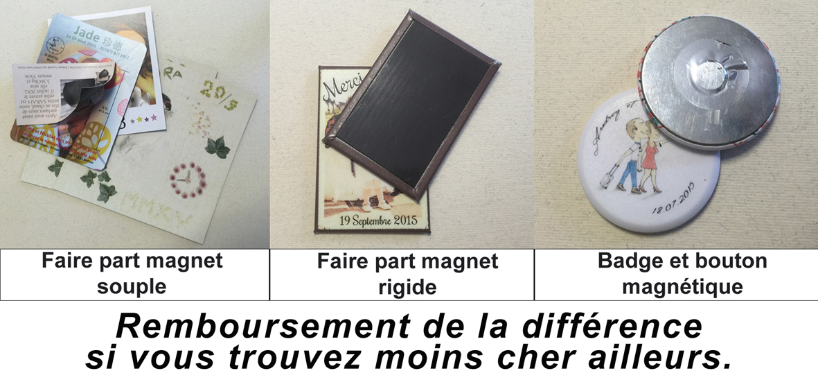 faire part magnet naissance mariage impression de magnet. Black Bedroom Furniture Sets. Home Design Ideas