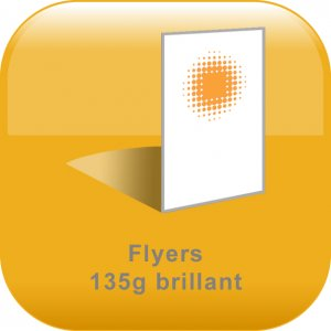 Flyers 135gr brillant