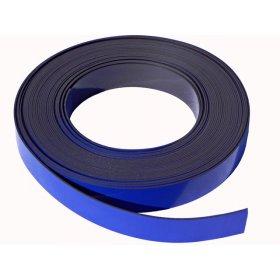 Bande magnétique bleue 20mm x 1mm x 5 mètres