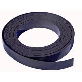 Bande magnétique noire 10mm x 1mm x 1 mètre