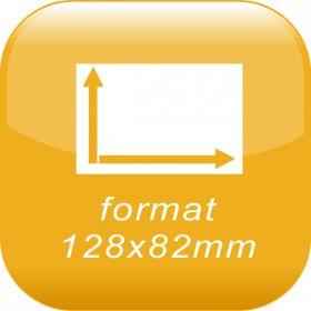 format 12,8x8,2cm