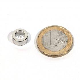 Imanes neodimio anillas Øext10 x Øint6 x 5 mm