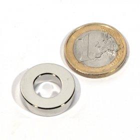 Imanes neodimio anillas Øext20 x Øint10 x 5 mm