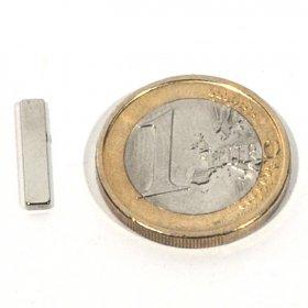 Imanes neodimio bloques 15 x 3 x 1.2 mm