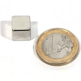 Imanes neodimio cuadrada 10 x 10 mm
