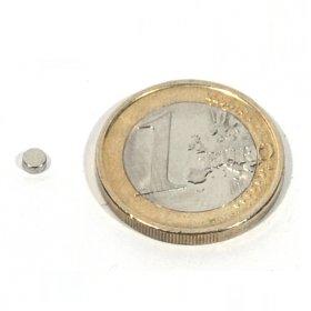 Imanes neodimio discos Ø3 x 1.5mm