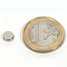 Imanes neodimio discos Ø6 x 2mm