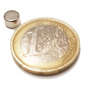 Imanes neodimio discos Ø6 x 4mm