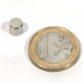 Imanes neodimio discos Ø6 x 6mm