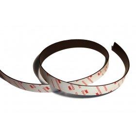 Nastri magnetici neodimio autoadesivi 20mmx1.5mmx1m