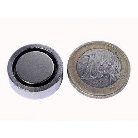 Pot neodymium magnet Ø 0,79x0,24in