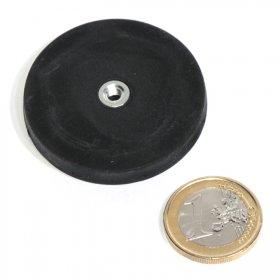 Taco antideslizante con orificio roscada  Ø43mm