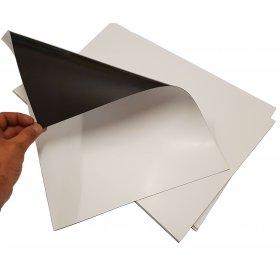 White magnetic sheet