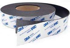 Banda magnética adhesiva 40mm x 2mm x 10metros adhésif 3M