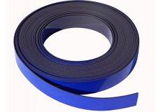 Banda magnética azul 30mm x 1mm x 1 metro