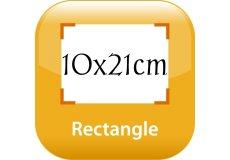 calendrier magnétique 10x21cm coins arrondis