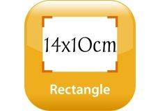 calendrier magnétique 14x10cm coins arrondis