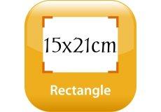 calendrier magnétique 15x21cm coins arrondis