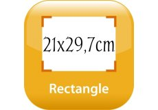 calendrier magnétique 21x29,7cm coins arrondis
