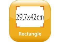 calendrier magnétique 29,7x42cm coins arrondis