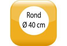 Car magnet Round 17,32inch
