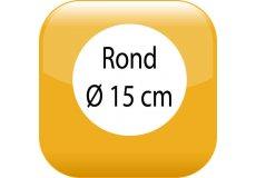 Car magnet Round 5,91inch