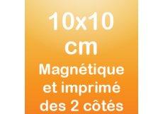 dos caras magnet 10x10cm