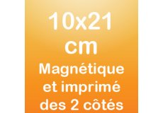dos caras magnet 10x21cm