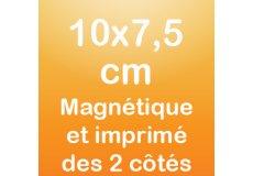 dos caras magnet 10x7,5cm
