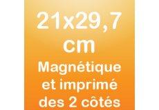 dos caras magnet 21x29,7cm