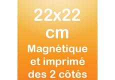 dos caras magnet 22x22cm