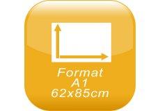 format A1 62x85cm