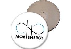 magnet rigide badge rond diamètre 4,4cm épaisseur 3mm