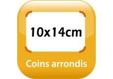 magnet thermomètre 14x10cm coins arrondis