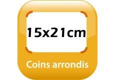magnet thermomètre 15x21cm coins arrondis