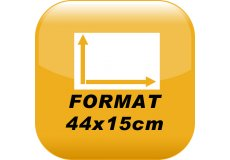 MAGNET VOITURE 44X15cm