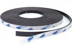 Magnetband selbstklebend 10mm x 2mm x 10m