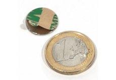 Magnete, selbstklebend  Ø15 x 1mm