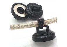 Magneti con passaggio cavi ø20