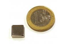 Neodymium magnetic blocks 0,4X0,4X0,12in