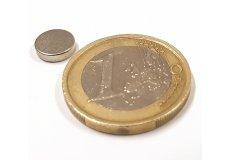 Neodymium magnetic discs Ø0,31 x 0,08in