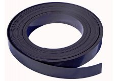Schwarze Magnetband selbstklebend 20mm x 1mm x 1 m
