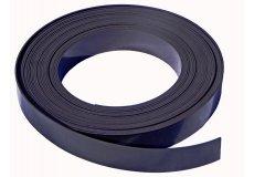 Schwarze Magnetband selbstklebend 30mm x 1mm x 1 m